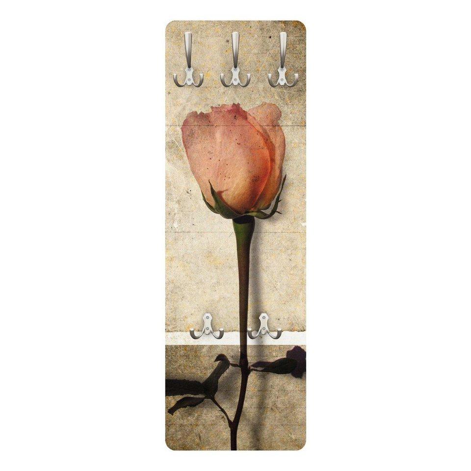 Bilderwelten Garderobe Vintage 139x46x2cm »Inner Rose« in Braun