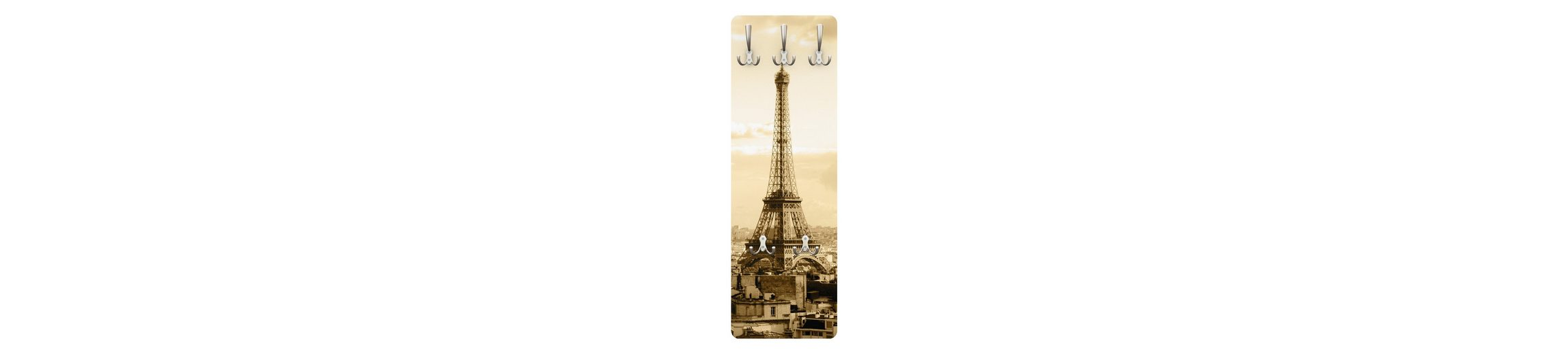Bilderwelten Garderobe Vintage 139x46x2cm »I Love Paris«