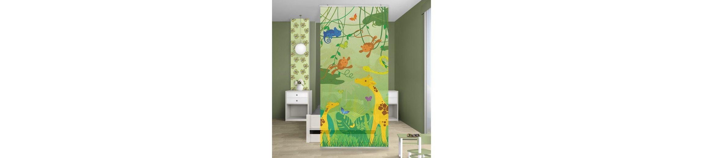 Bilderwelten Raumteiler Kinderzimmer 250x120cm »No.IS87 Dschungelspiel«