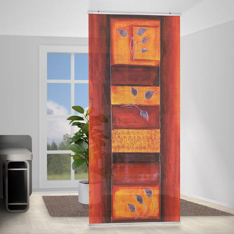 Bilderwelten Raumteiler 250x120cm »Memory« in Orange