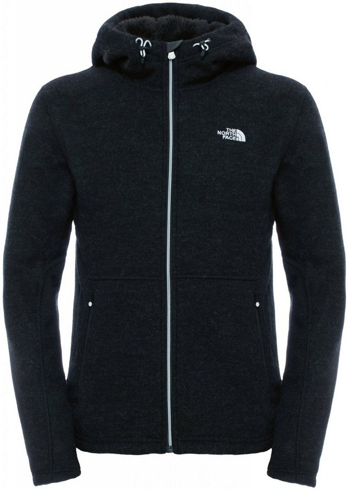 The North Face Outdoorjacke »Zermatt Full Zip Hoodie Men« in schwarz