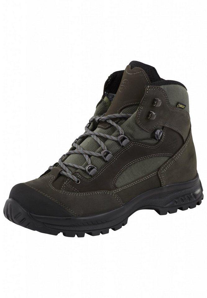 Hanwag Kletterschuh »Banks Wide GTX Trekking Boots Men« in grau
