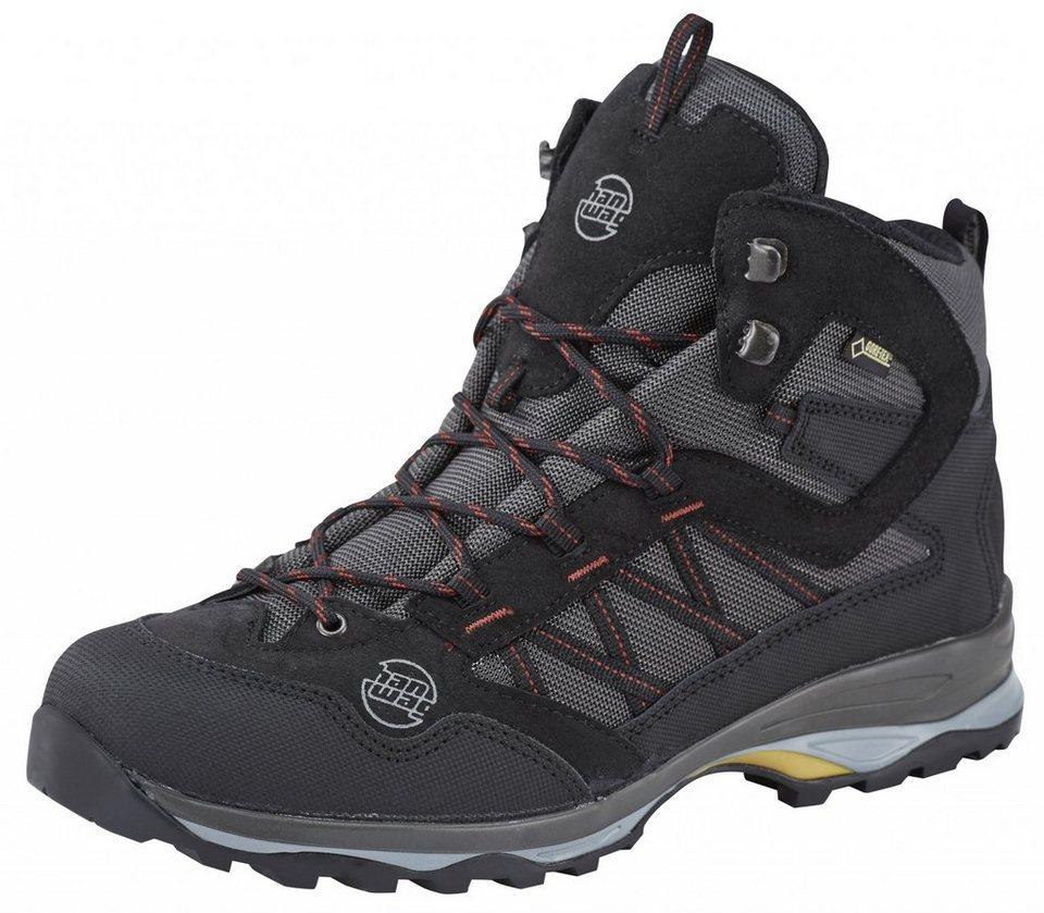 Hanwag Kletterschuh »Belorado Mid GTX Trekking Shoes Men« in schwarz