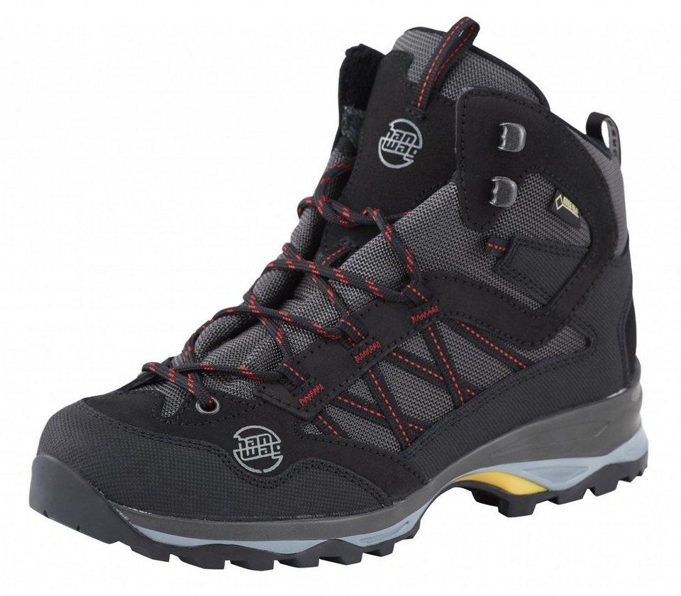 Hanwag Kletterschuh »Belorado Mid GTX Trekking Shoes Lady« in schwarz