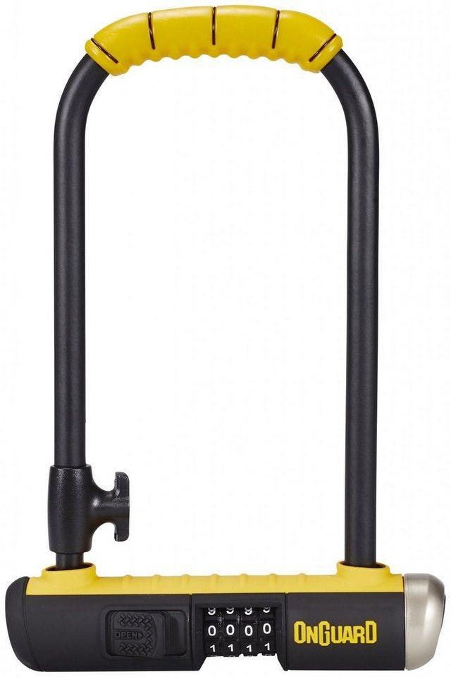 Onguard Fahrradschloss »Bulldog Combo STD 8010 C Bügelschloss 115x230 mm«