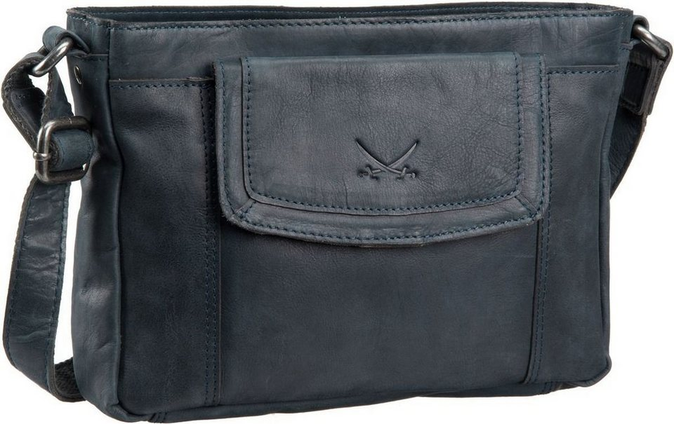 Sansibar Saturnus 1054 Zip Bag in Jeans