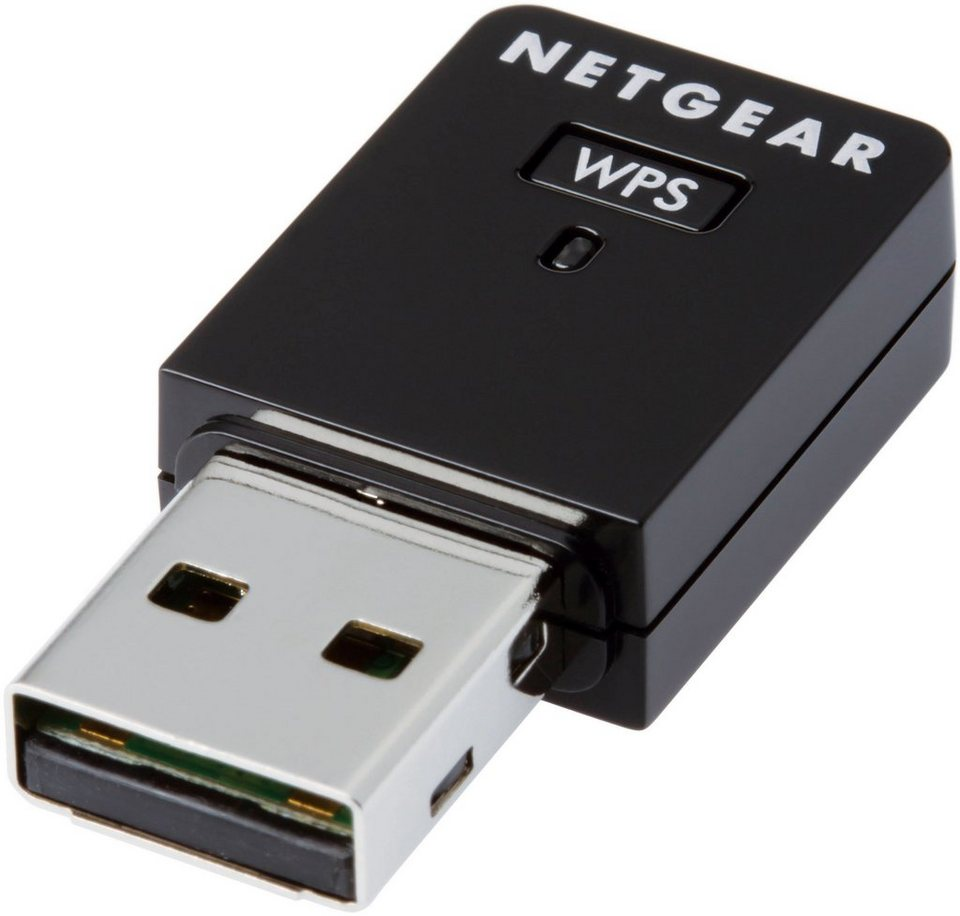 Netgear WLAN Adapter »N300 Wireless USB Mini Adapater«