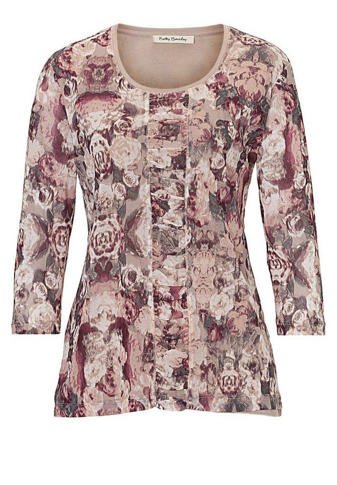 Betty Barclay Shirt in Camel/Rosé - Braun