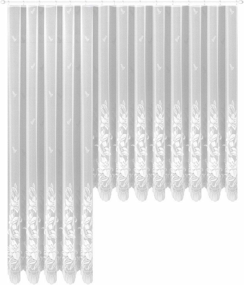 Gardine, Weckbrodt-Gardinen, »Wismar«, mit Kräuselband (1 Stück) in weiß
