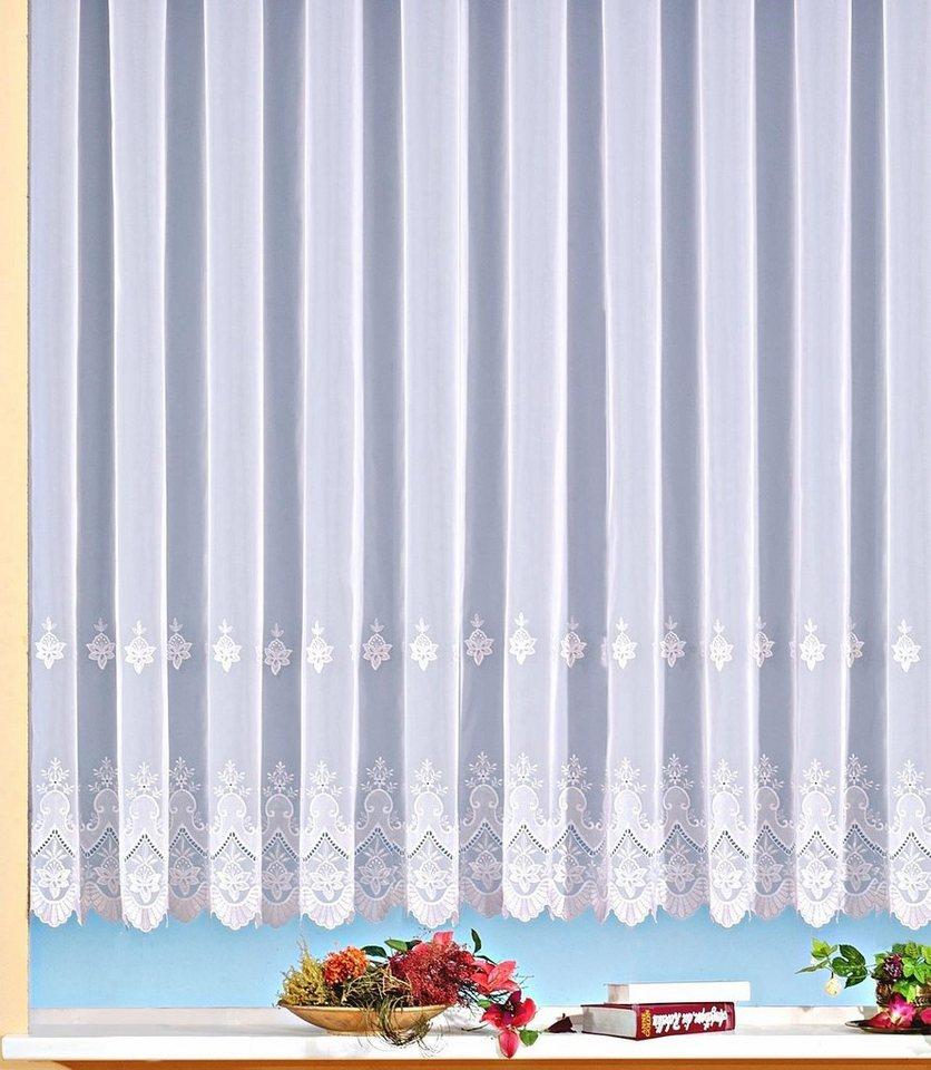 gardine bestickt weckbrodt gardinen berlin 1 st ck online kaufen otto. Black Bedroom Furniture Sets. Home Design Ideas