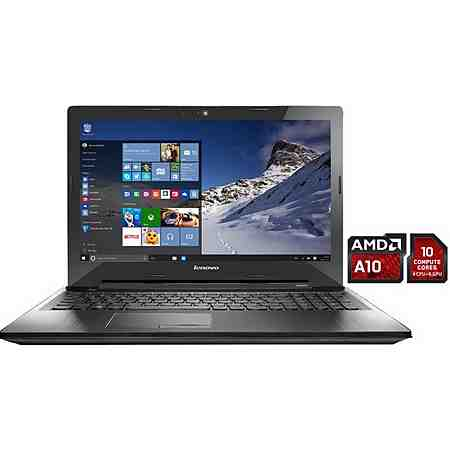 Lenovo Z50-75 Notebook, AMD A10, 39,6 cm (15,6 Zoll), 1000 GB Speicher, 8192 MB DDR3L
