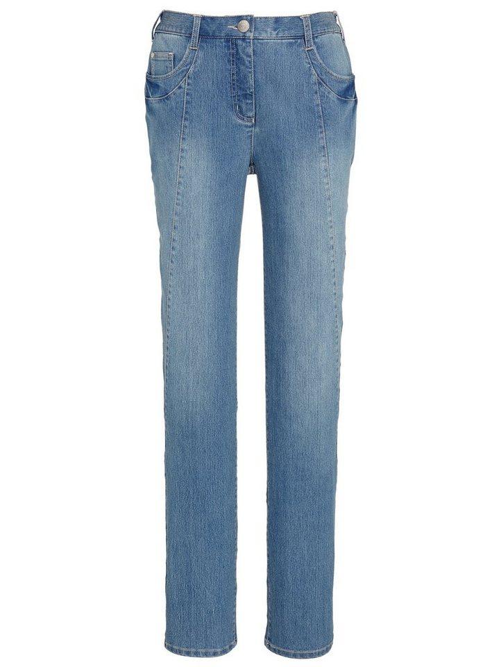 MIAMODA Jeans in blue stone