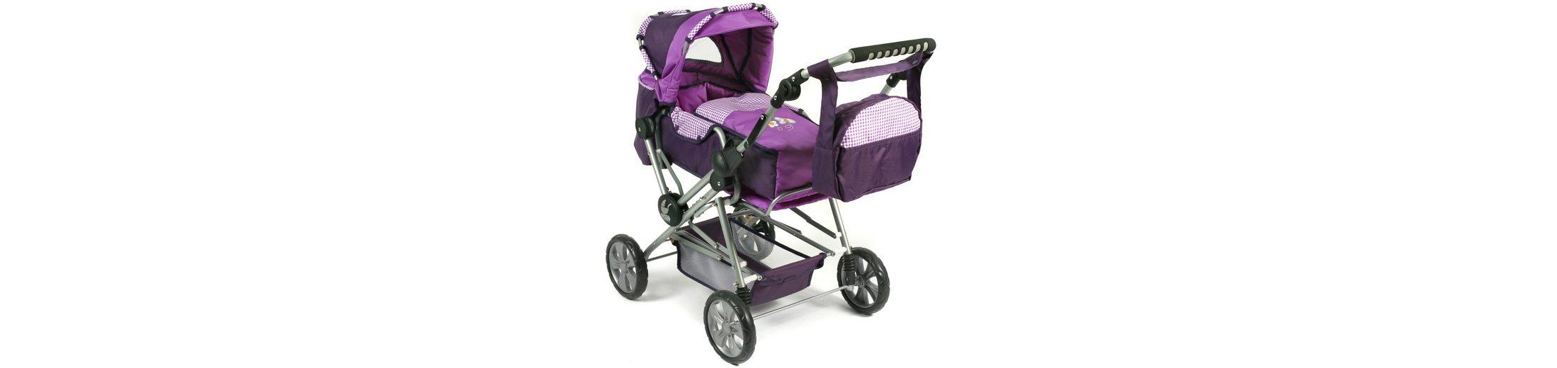 CHIC2000 Kombi Puppenwagen mit herausnehmbarer Tragetasche, »ROAD STAR Purple«