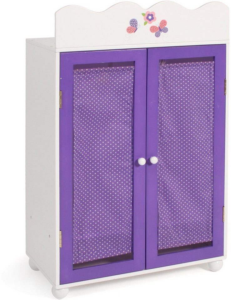 CHIC2000 Puppenkleiderschrank, »Papilio purple« in purple