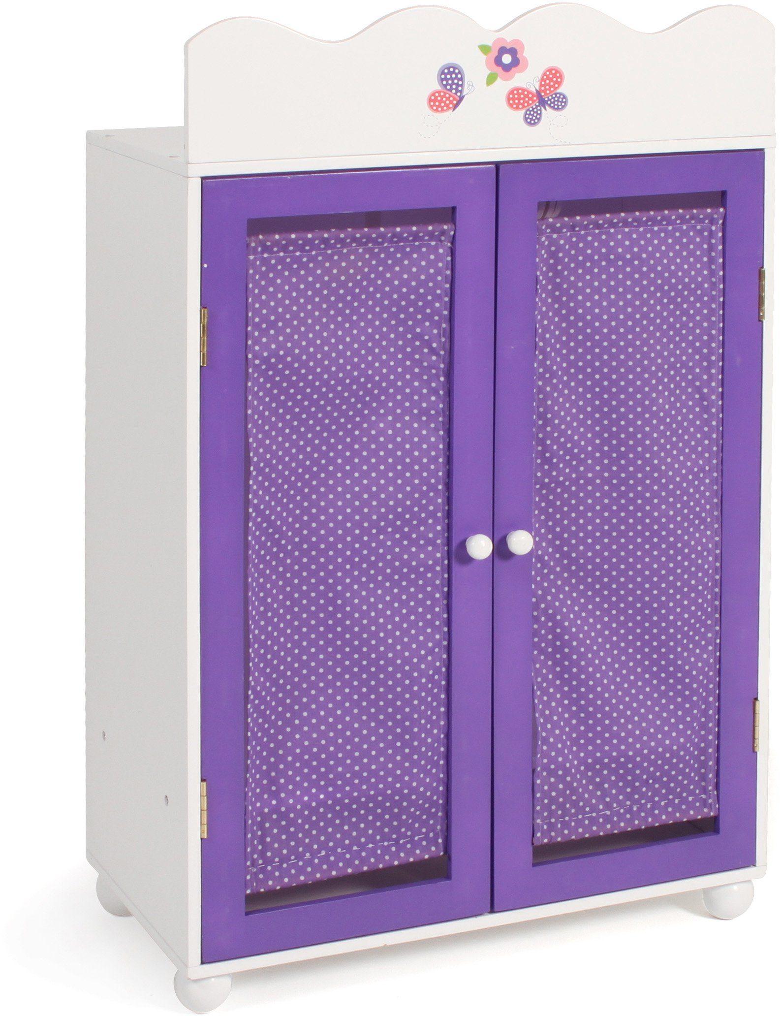 CHIC2000 Puppenkleiderschrank, »Papilio purple«