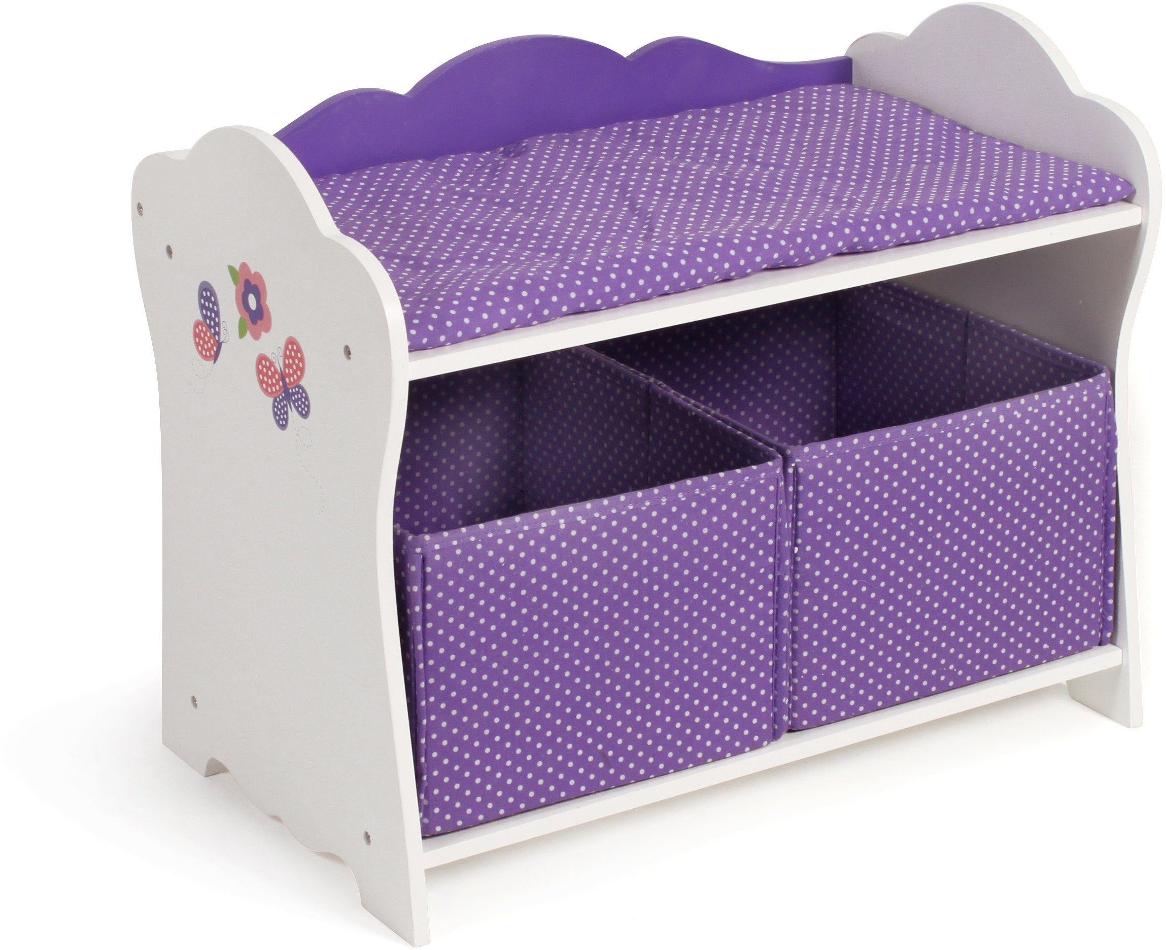 CHIC2000 Puppenwickeltisch, »Papilio purple«