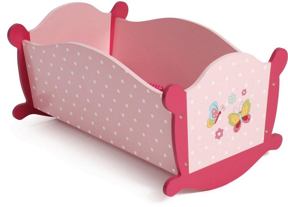 CHIC2000 Puppenwiege, »Papilio pink« in pink