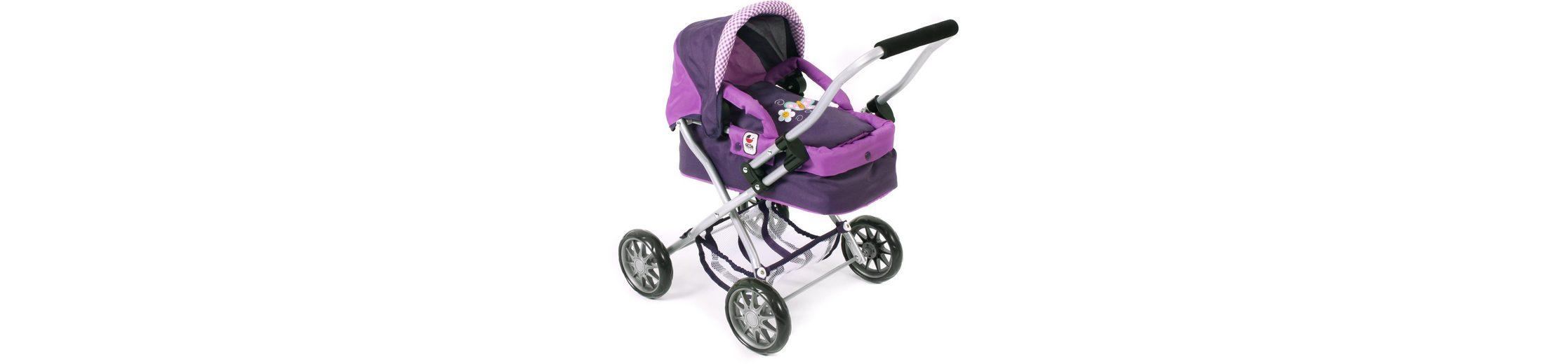 CHIC2000 Mini Puppenwagen mit herausnehmbarer Tragetasche, »Smarty purple«