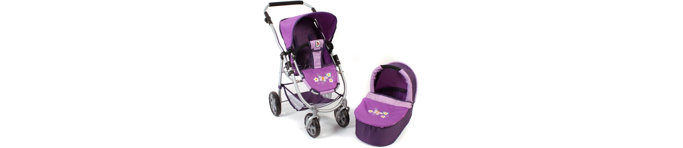 CHIC2000 2 in 1 Puppenwagen Kombi, »EMOTION Purple«