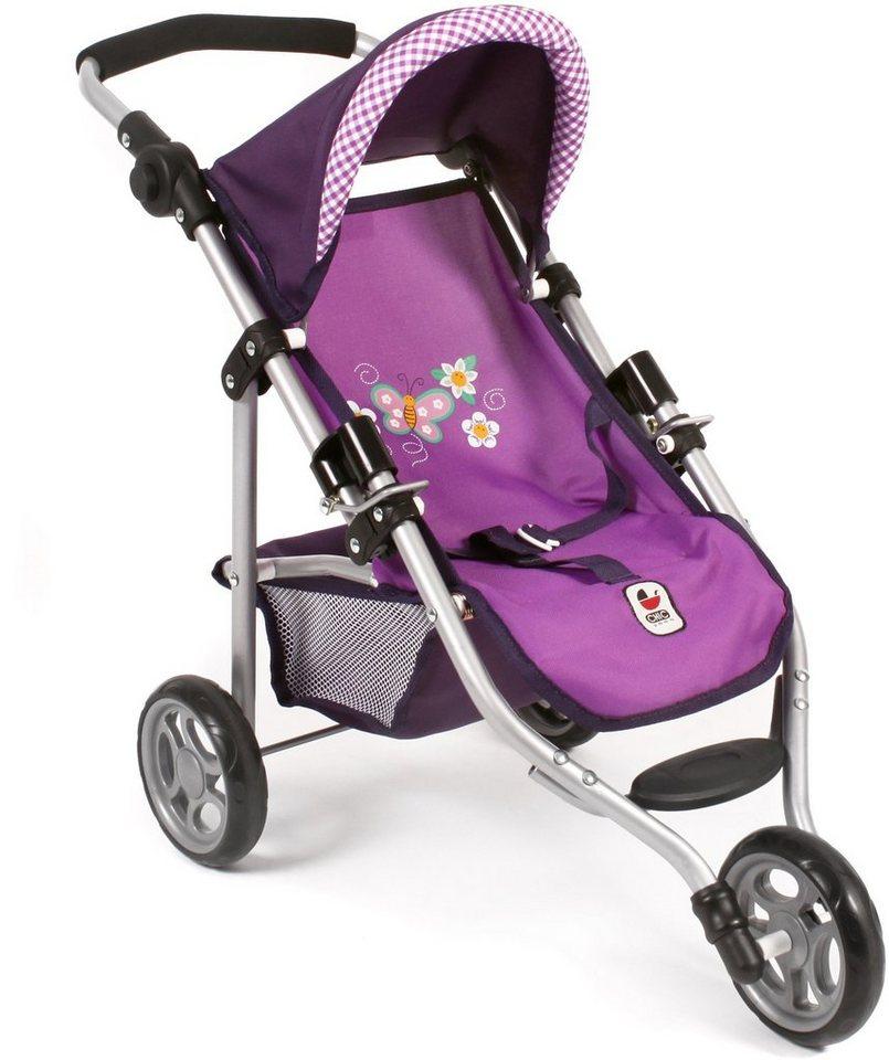 CHIC2000 Jogging Buggy mit klappbarem Verdeck, »LOLA Purple« in purple