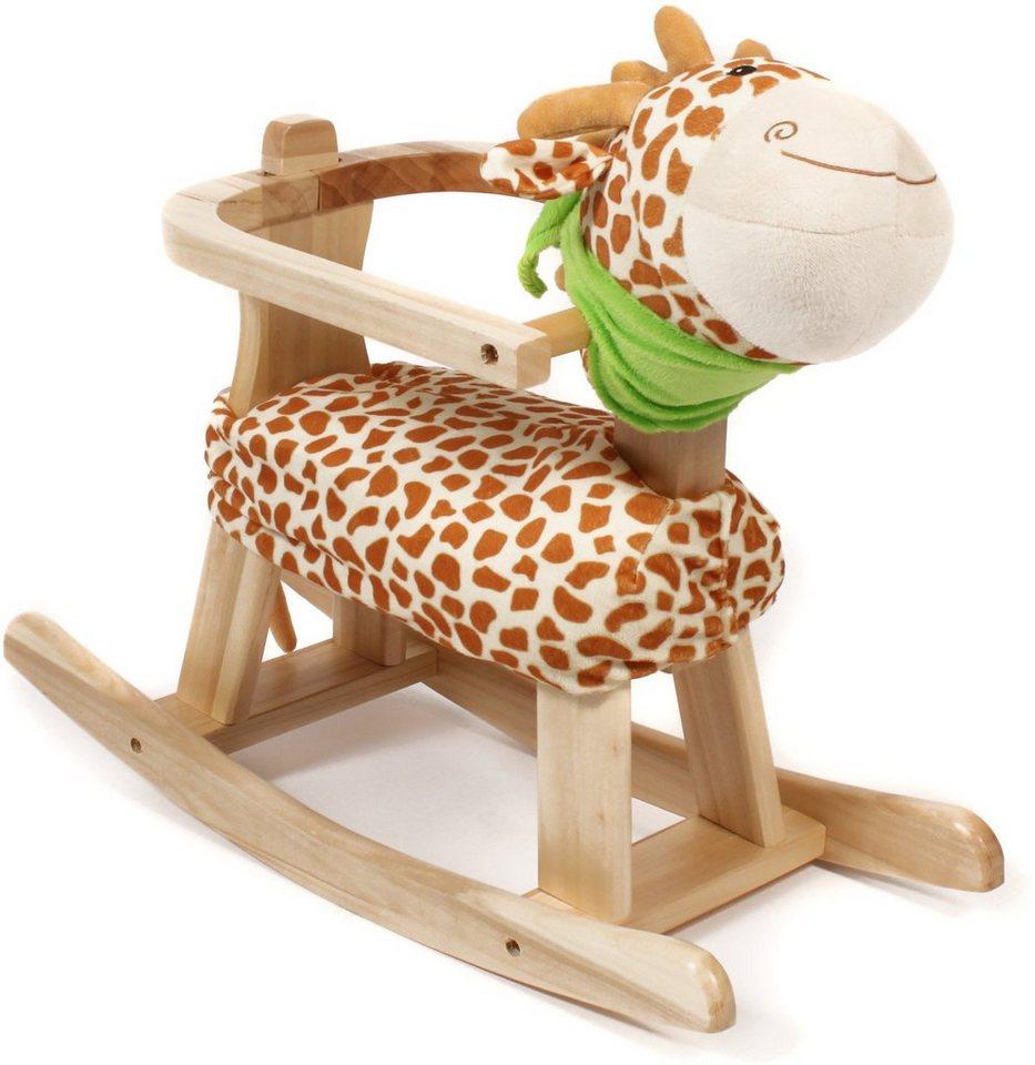 CHIC2000 Schaukeltier mit abnehmbarem Rahmen, »Giraffe« in braun