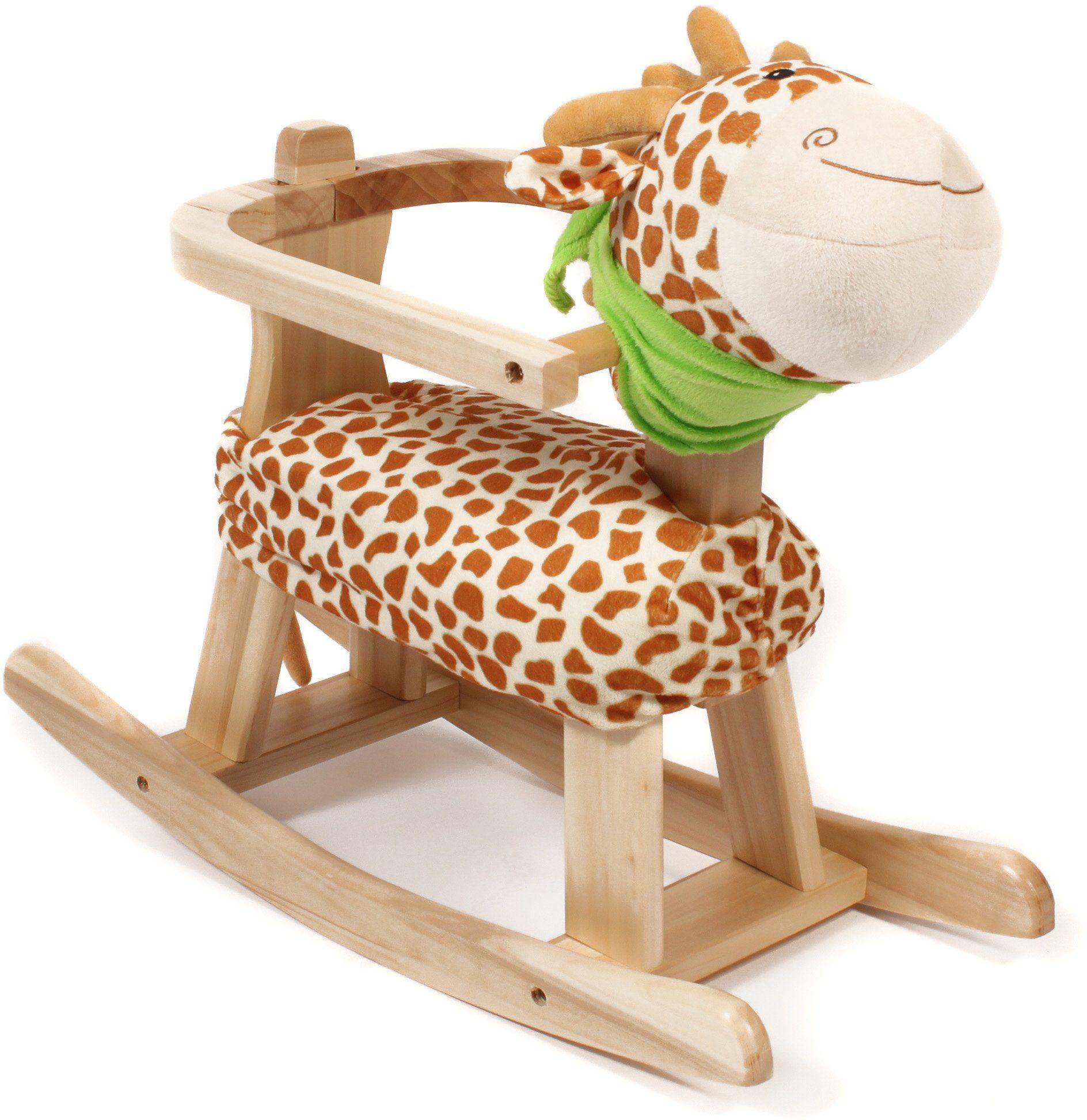 CHIC2000 Schaukeltier mit abnehmbarem Rahmen, »Giraffe«