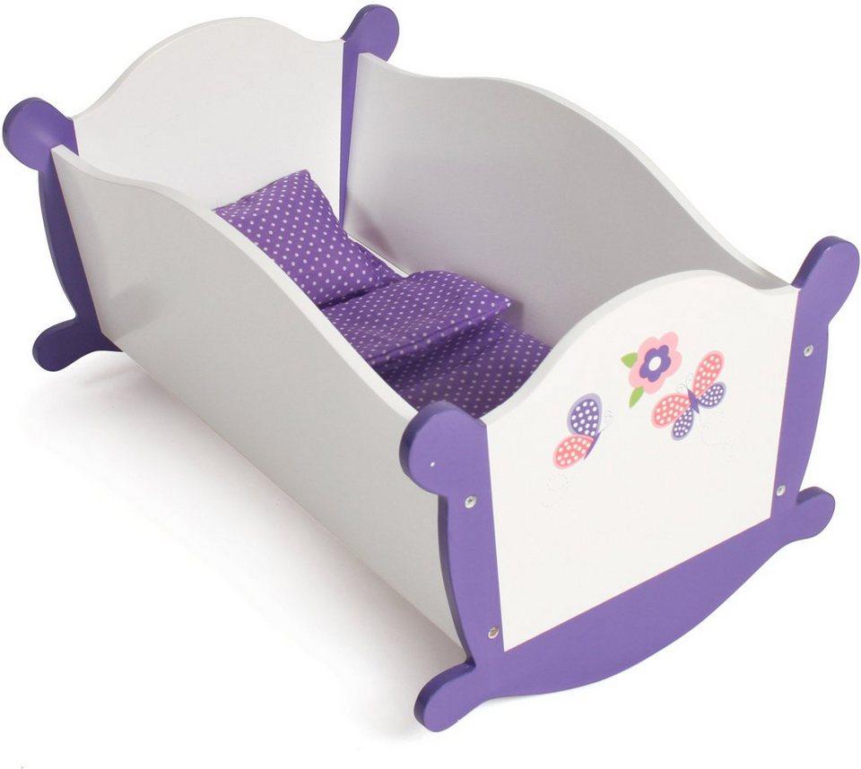 CHIC2000 Puppenwiege, »Papilio purple« in purple