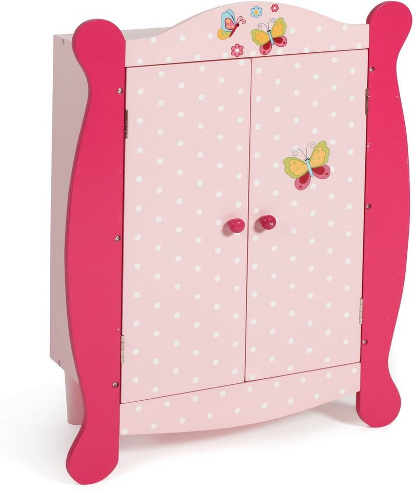 CHIC2000 Puppenschrank, »Papilio pink« in pink