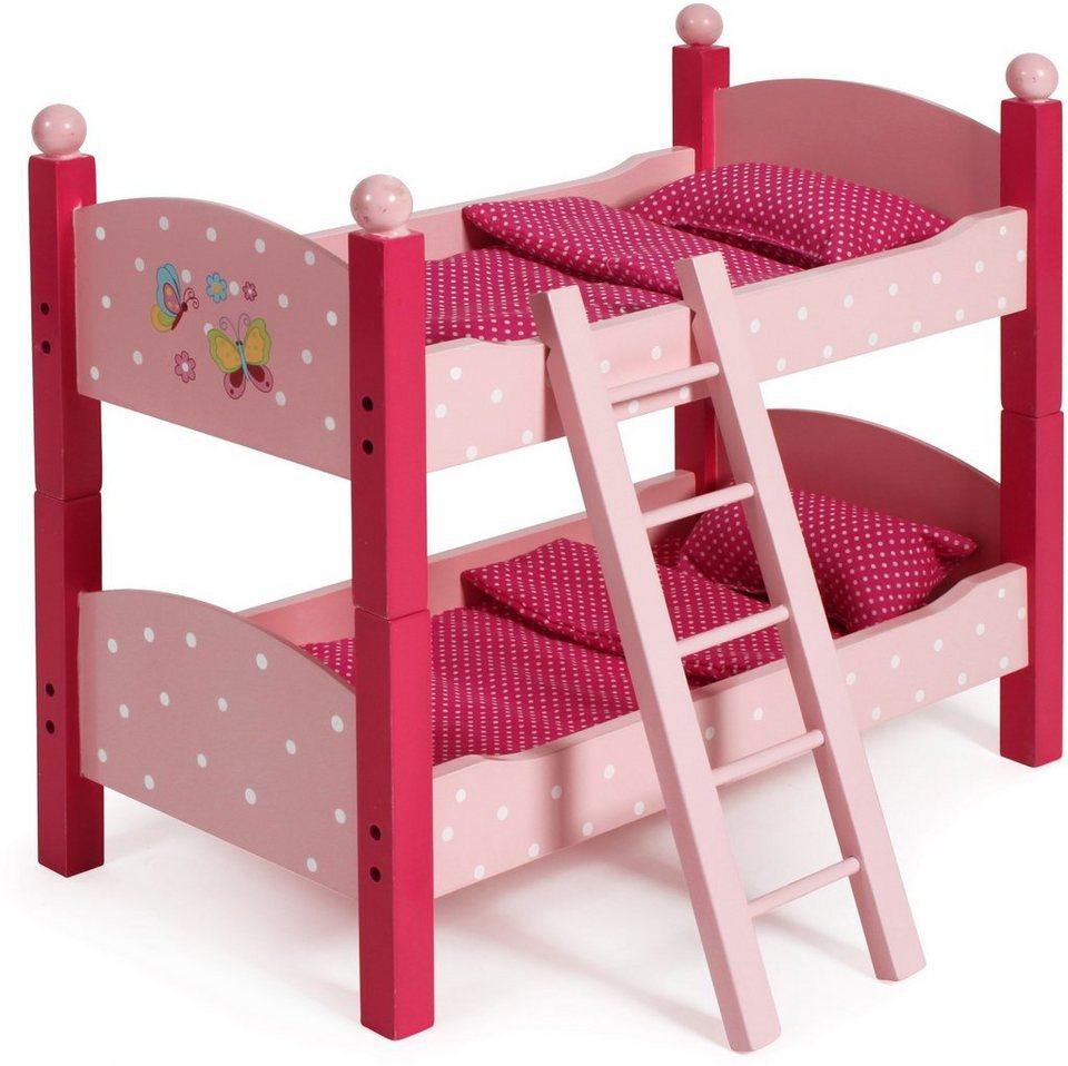 CHIC2000 Puppenbett, »Papilio pink« in pink