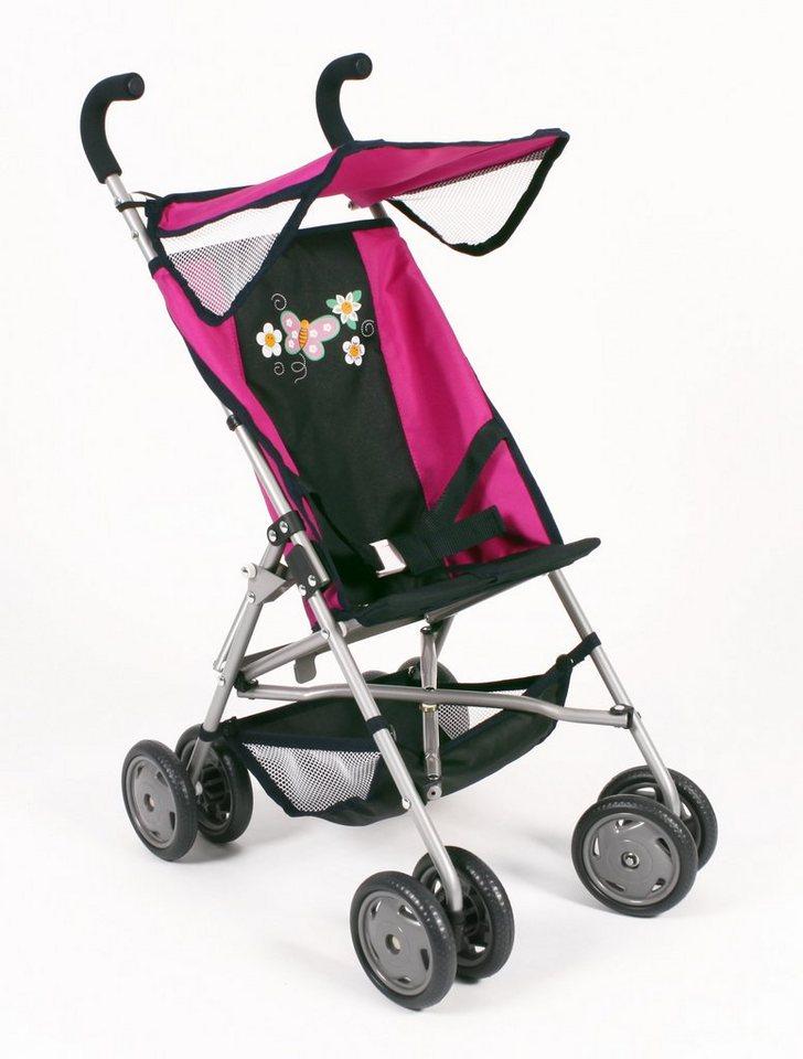 CHIC2000 Buggy mit klappbarem Sonnenverdeck, »VITA Navy-pink« in navy-pink