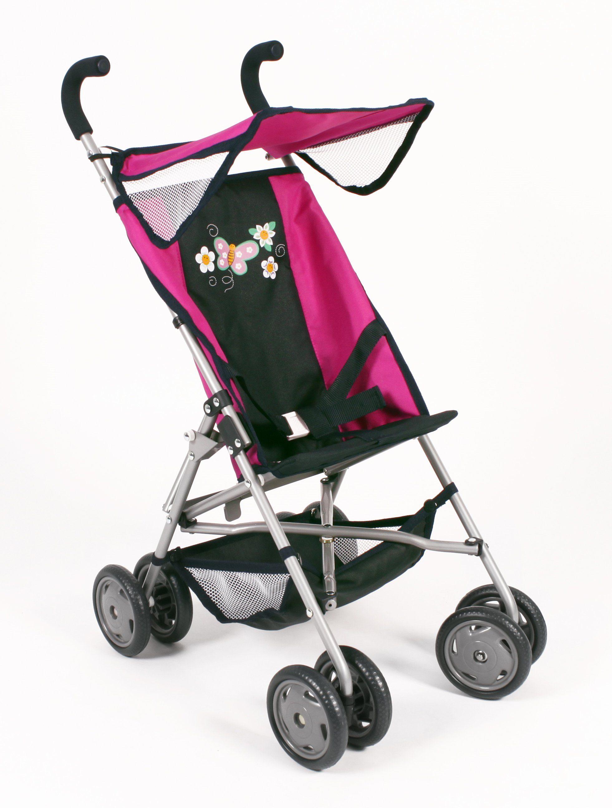 CHIC2000 Buggy mit klappbarem Sonnenverdeck, »VITA Navy-pink«