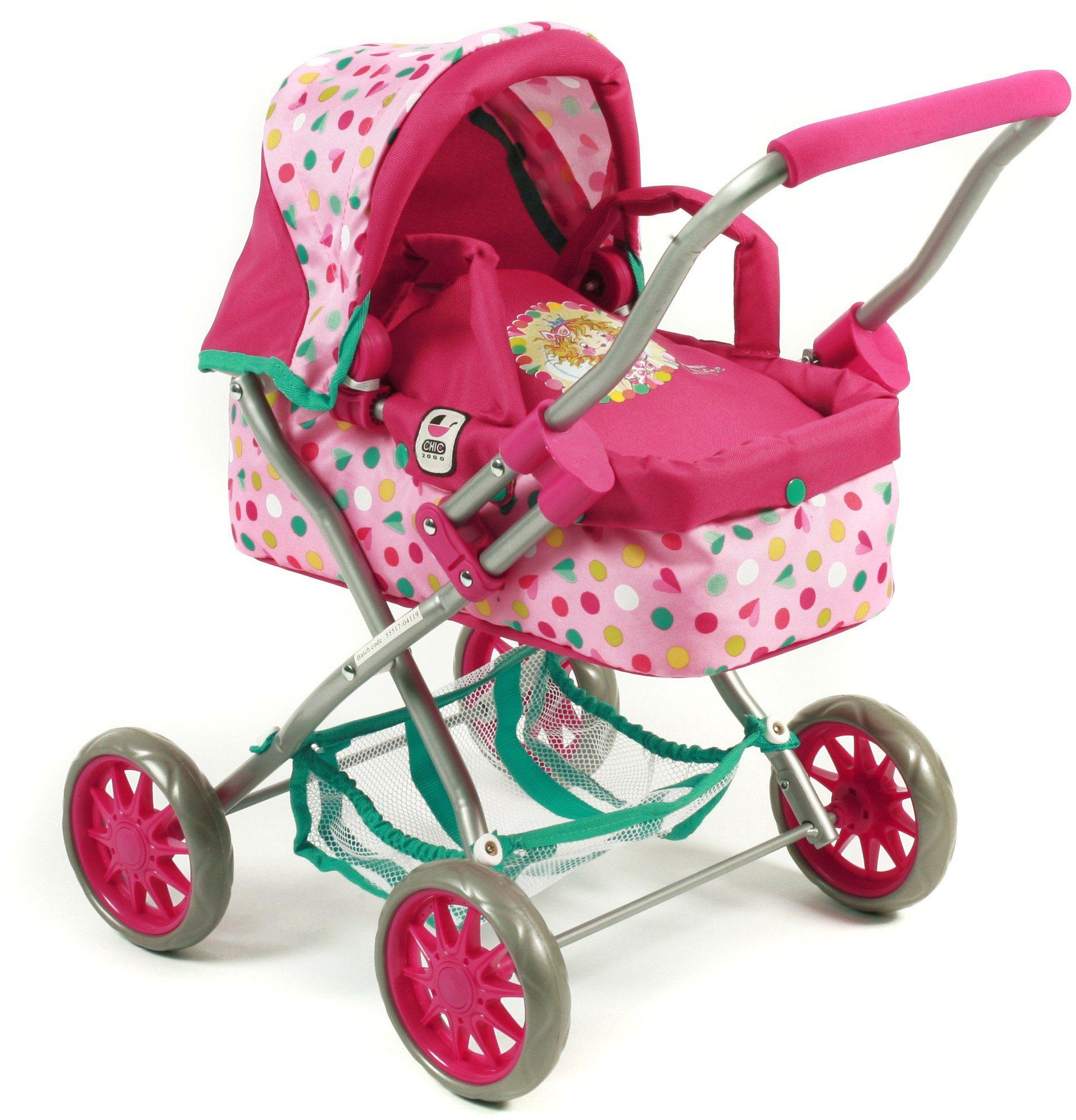 CHIC2000 Mini Puppenwagen mit herausnehmbarer Tragetasche, »Smarty Lillifee«