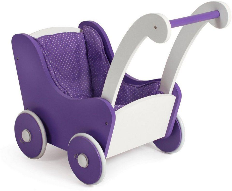chic2000 puppenwagen aus holz papilio purple otto. Black Bedroom Furniture Sets. Home Design Ideas