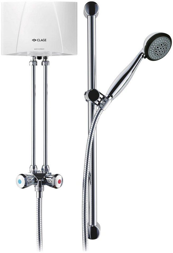 Kleindurchlauferhitzer »Clage Duschanlage M4-6/BGS«