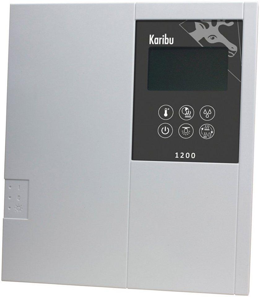 Sauna-Steuergerät »Classic Bio«, für Bio-Öfen, extern, 9 kW in grau