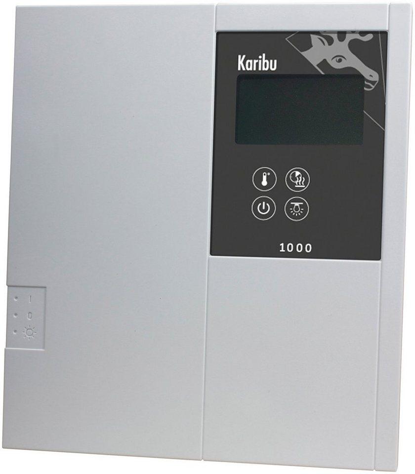 Sauna-Steuergerät »Classic Finnisch«, für Finnische Saunaöfen,extern, 9 kW in grau