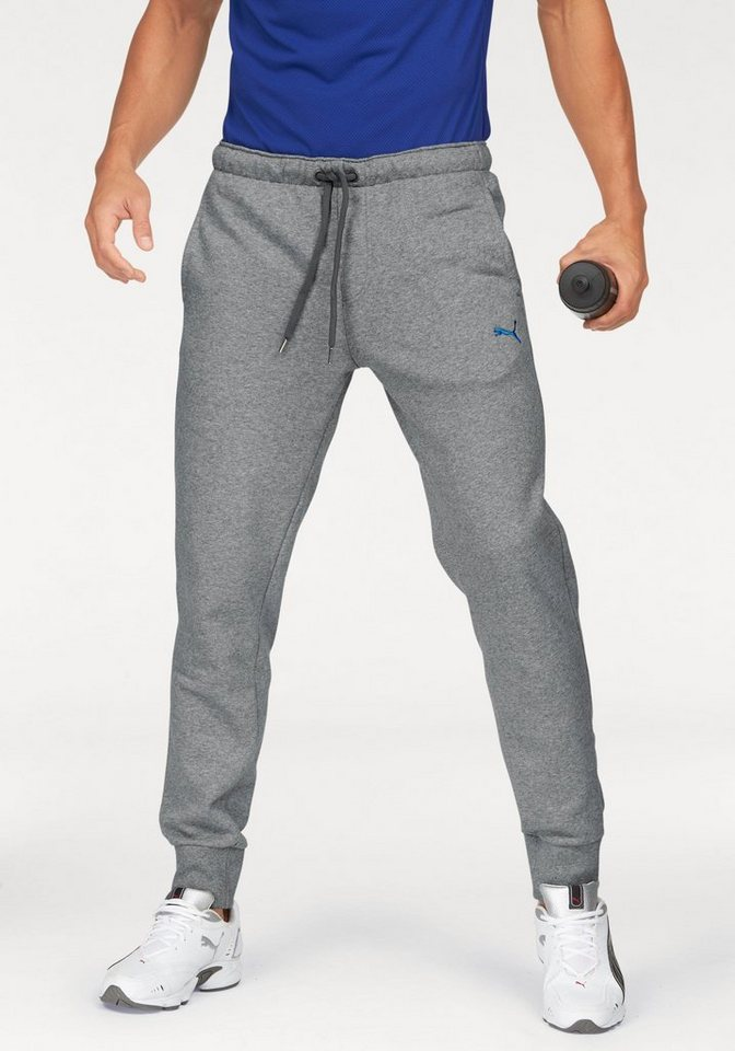puma jogginghose sports logo pants online kaufen otto. Black Bedroom Furniture Sets. Home Design Ideas