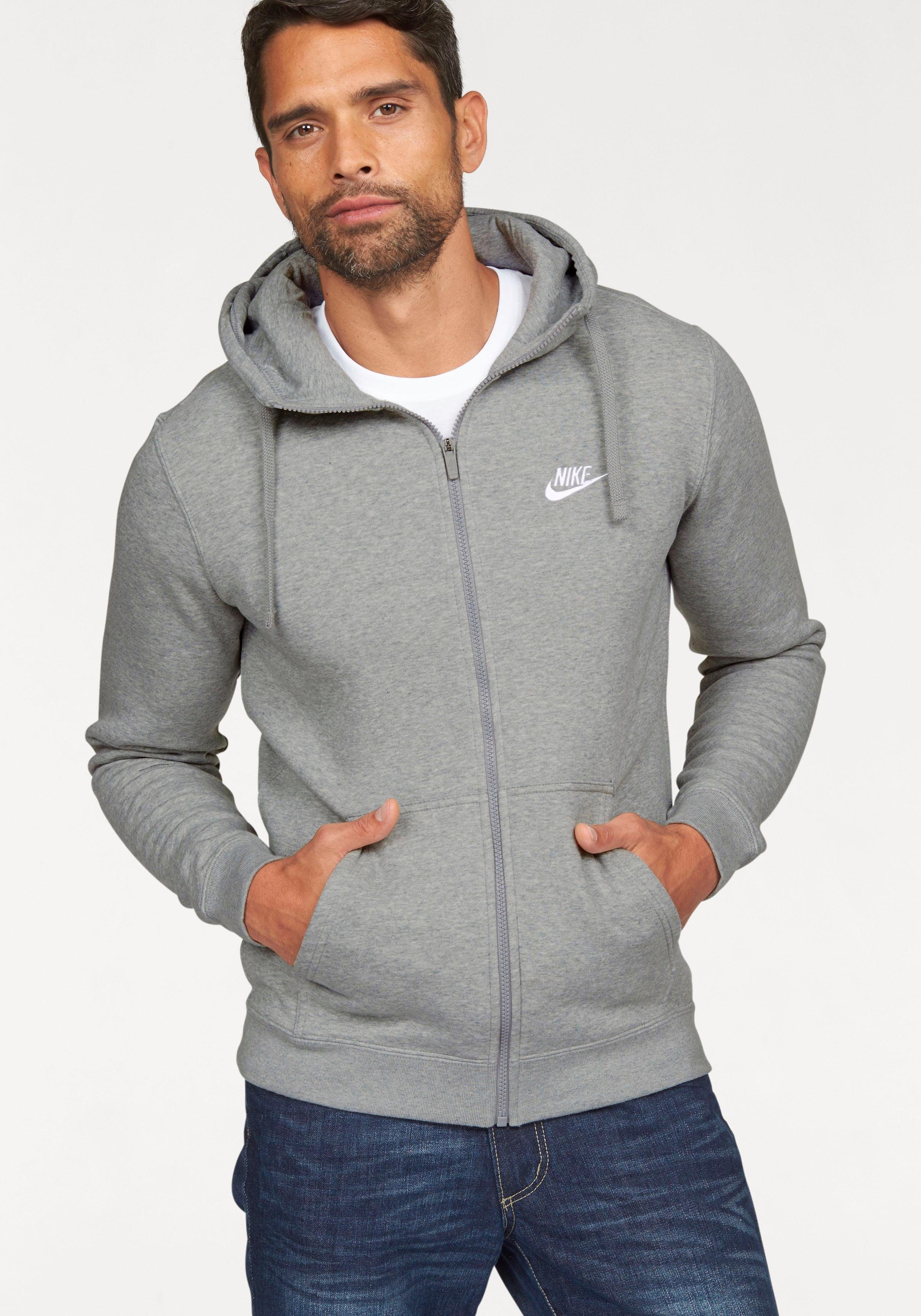 Nike Sportswear Kapuzensweatjacke »NSW HOODIE FULLZIP FLEECE CLUB« online kaufen | OTTO