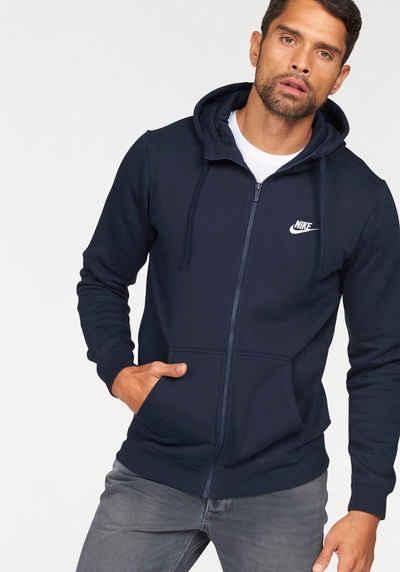 4323e67f173f Nike Sportswear Kapuzensweatjacke »NSW HOODIE FULLZIP FLEECE CLUB«