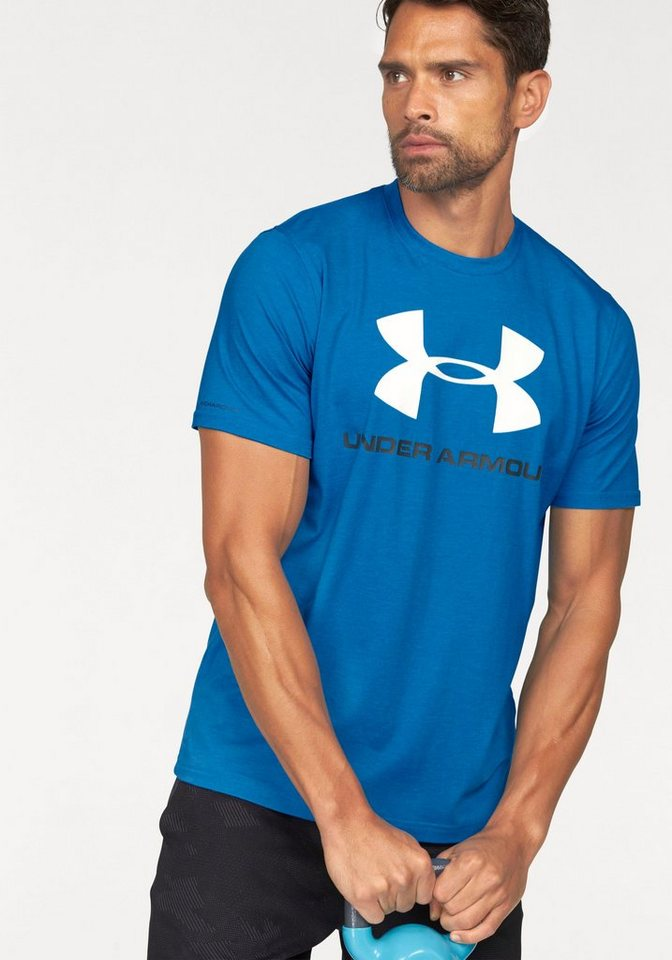 Under Armour® T-Shirt »SPORTSTYLE LOGO TEE« in blau