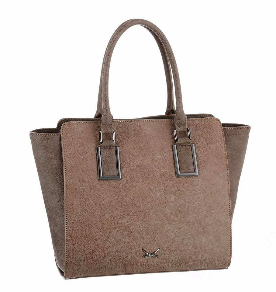 Sansibar Shopper in taupe
