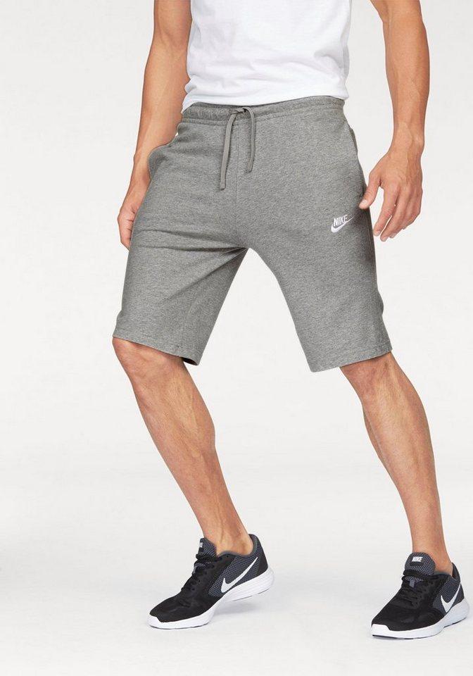 Nike Shorts »NSW SHORT JERSEY CLUB« in grau-meliert