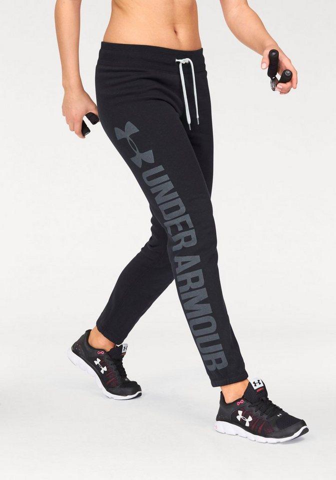 Under Armour® Jogginghose »FAVORITE FLEEC PANT« in schwarz