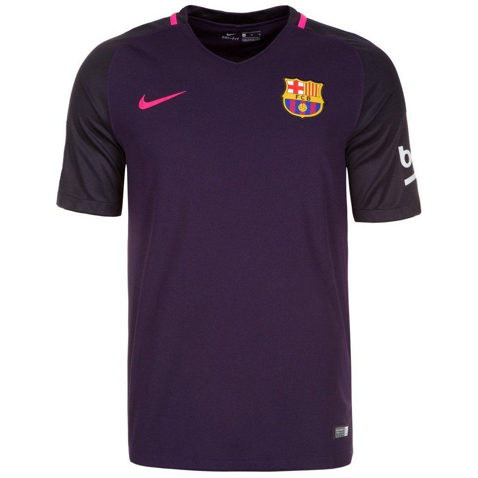 NIKE FC Barcelona Trikot Away 2016/2017 Herren in lila / schwarz / pin