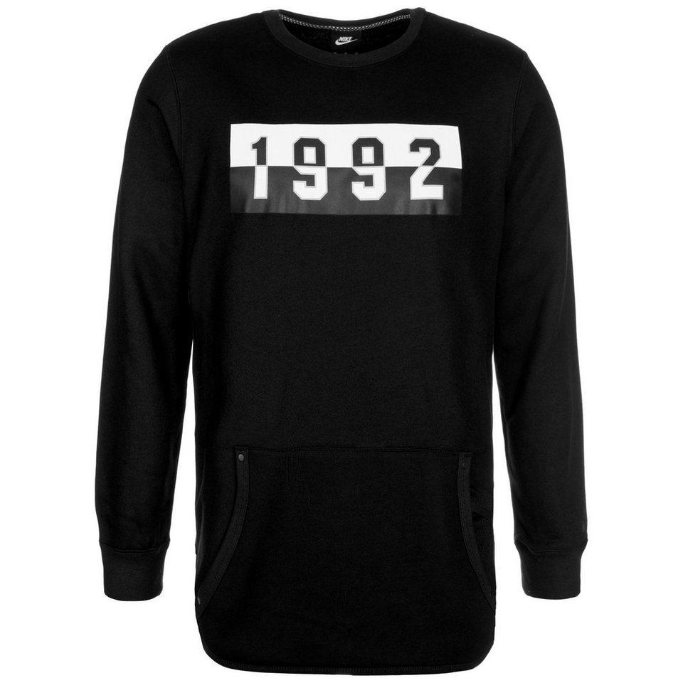 Nike Sportswear Air Crew Sweatshirt Herren in schwarz / weiß