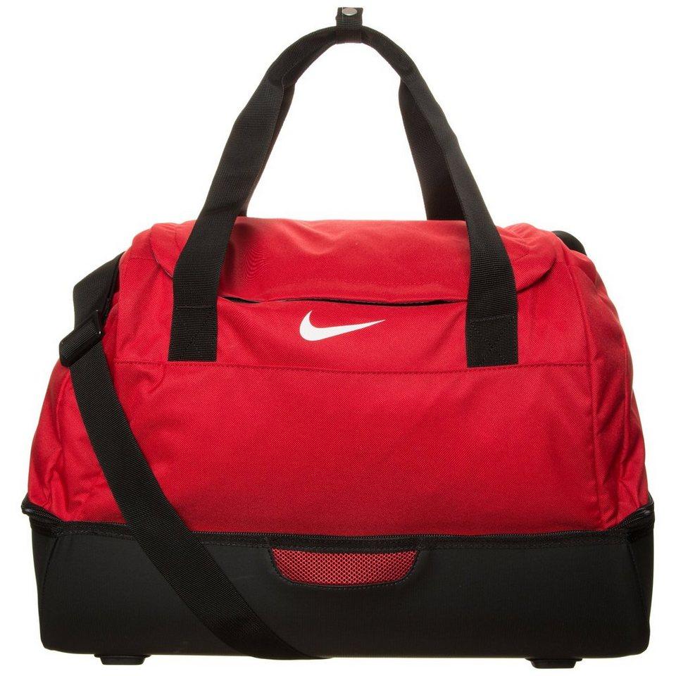 NIKE Club Team Swoosh Hardcase Sporttasche Medium in rot / schwarz / weiß