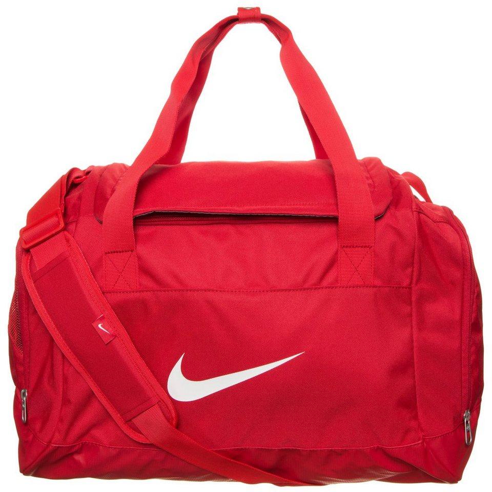 NIKE Club Team Swoosh Sporttasche Small in rot / weiß