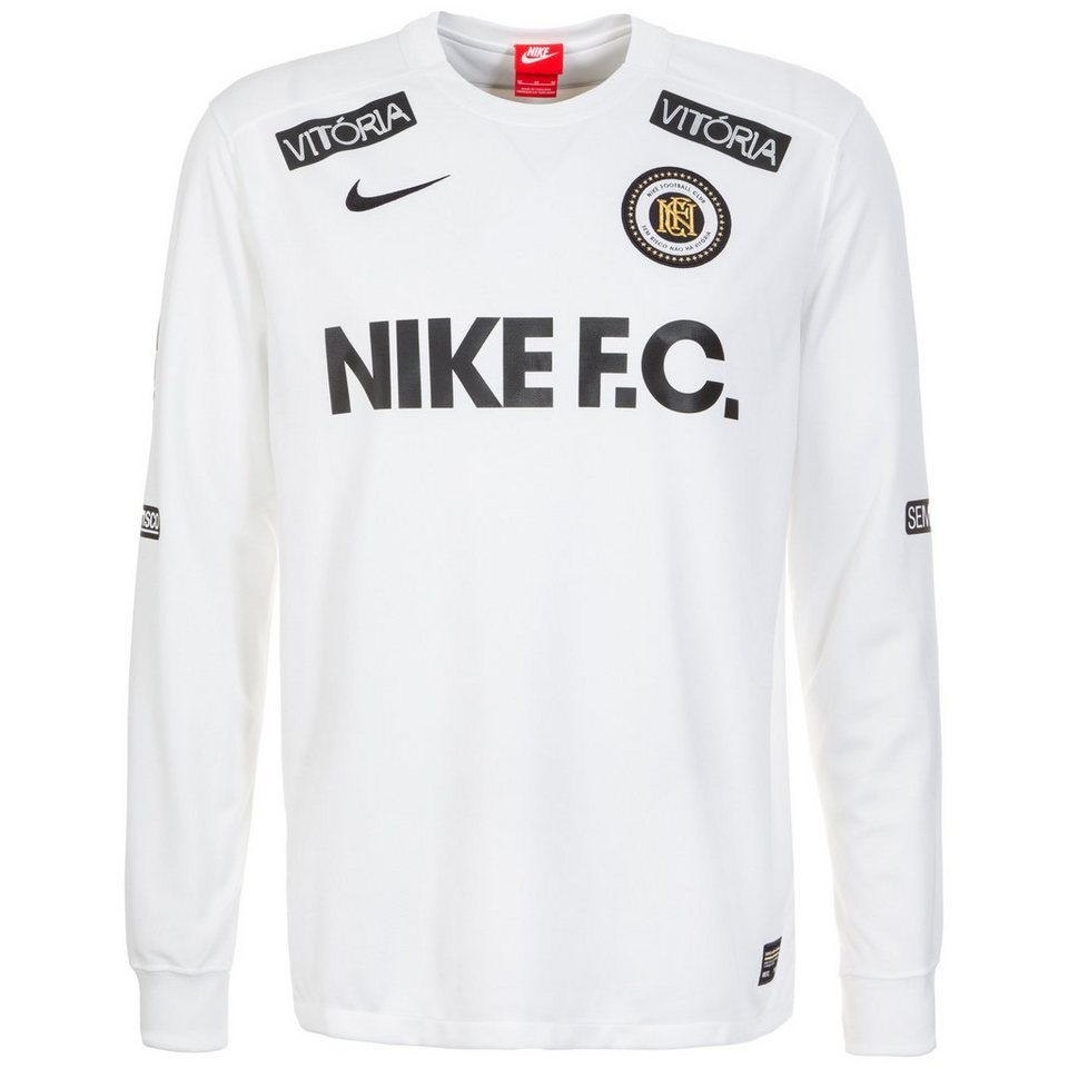 Nike Sportswear F.C. Longsleeve Herren in weiß / schwarz
