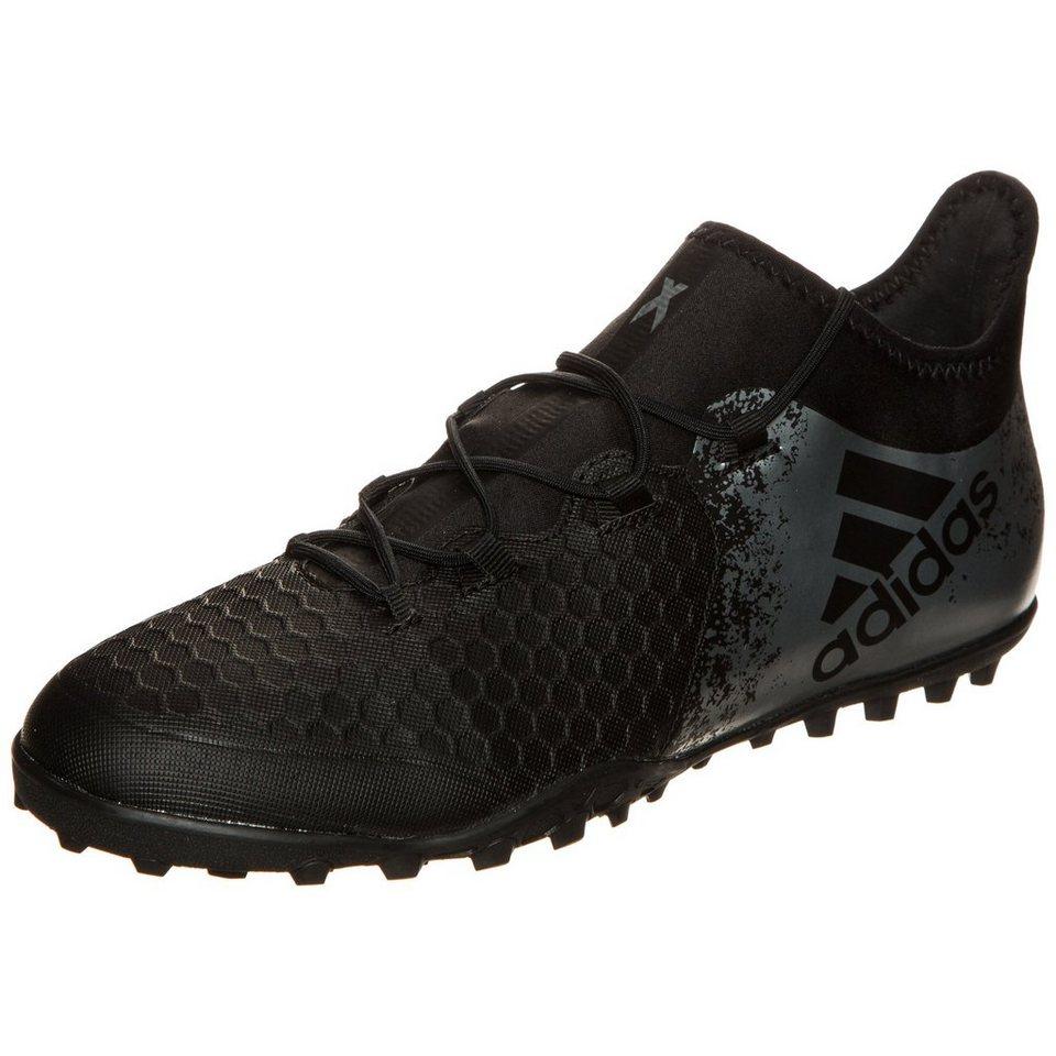 adidas Performance X 16.2 Cage Fußballschuh Herren in schwarz / silber