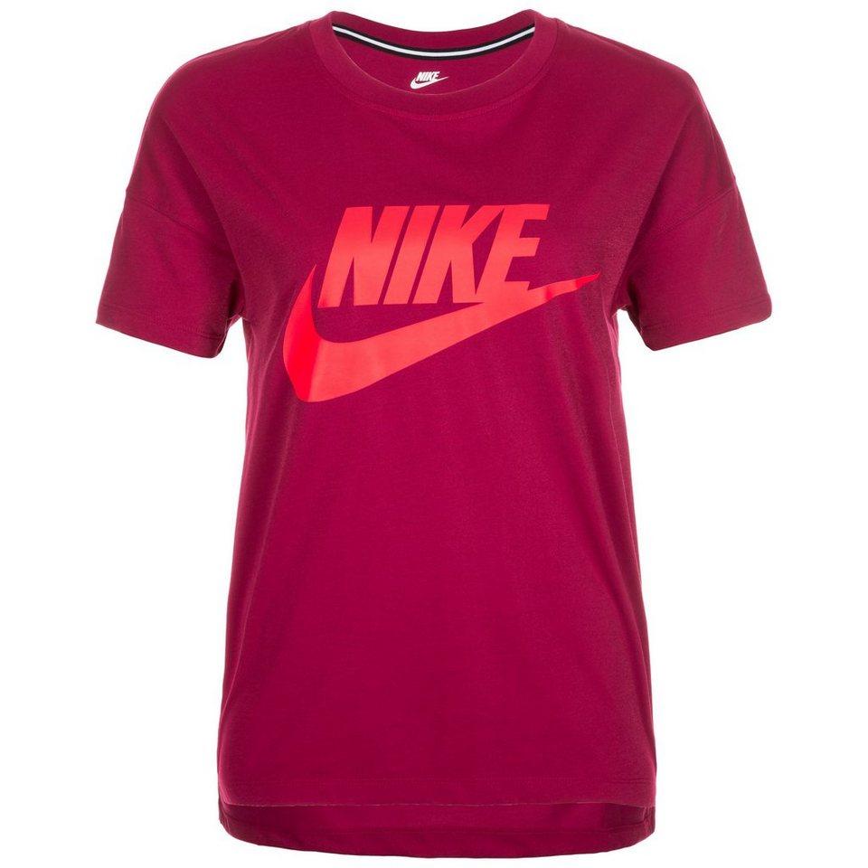 Nike Sportswear Signal T-Shirt Damen in fuchsia / neonrot
